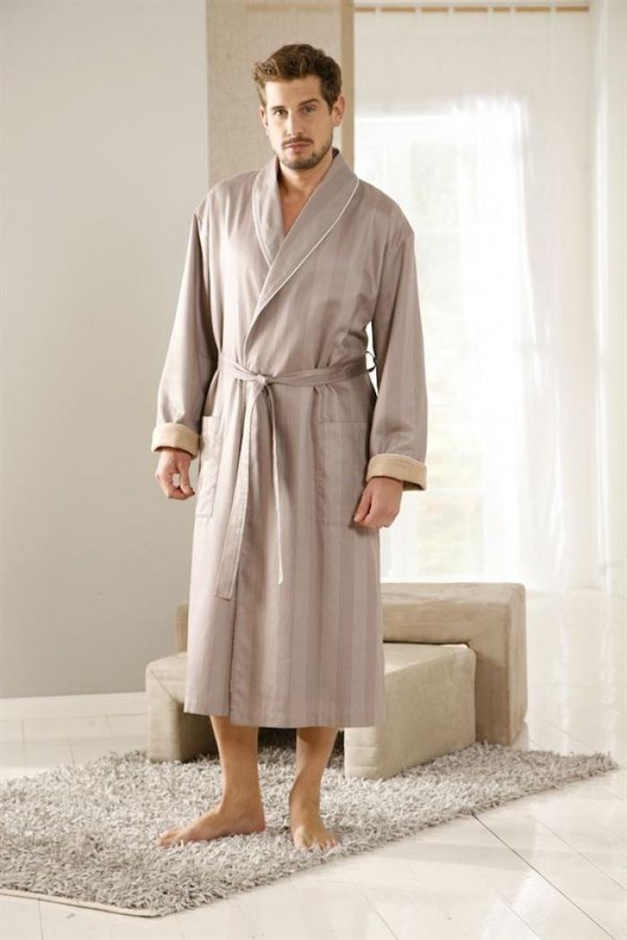c16895381e4086 BUGATTI - Ekskluzywny płaszcz kąpielowy męski Cesar rozmiar: M, L ...