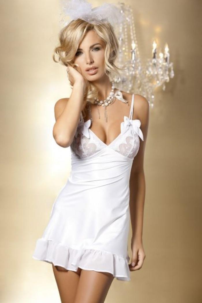 Elegancka bielizna damska biała, czarna, idealna na prezent
