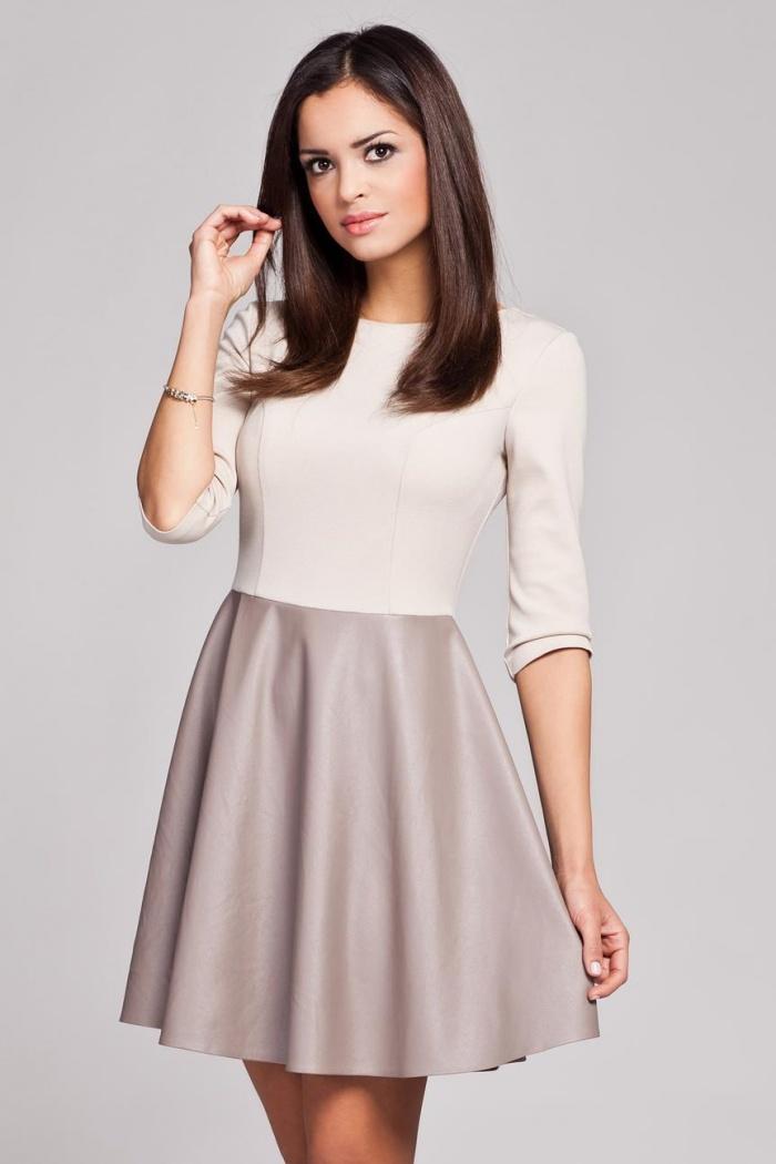8cb451f43b Odzież damska  Sukienka beżowa