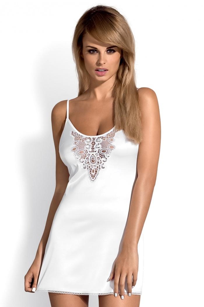 86617bcdca15b0 Koszulka biała Leila Obsessive, rozmiar: S/M, L/XL, XXL - Seksowna ...