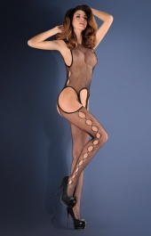 Bodystocking Calista czarny