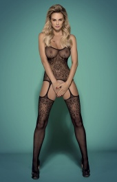 Bodystocking czarne F218