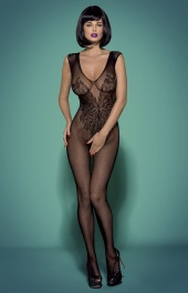 Bodystocking czarne N112