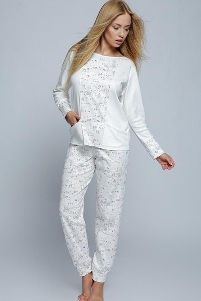 18fd330aa3e3f2 Piżamy damskie ciepłe. Młodzieżowa piżama bawełniana S, M, L, XL ...