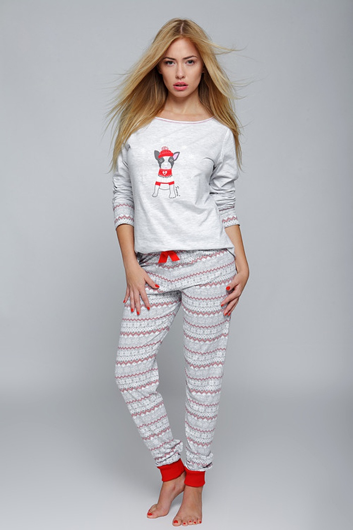 67ecfcd1badfd2 Ciepłe piżamy damskie z naturalnej bawełny. Duży wybór i szybka ...