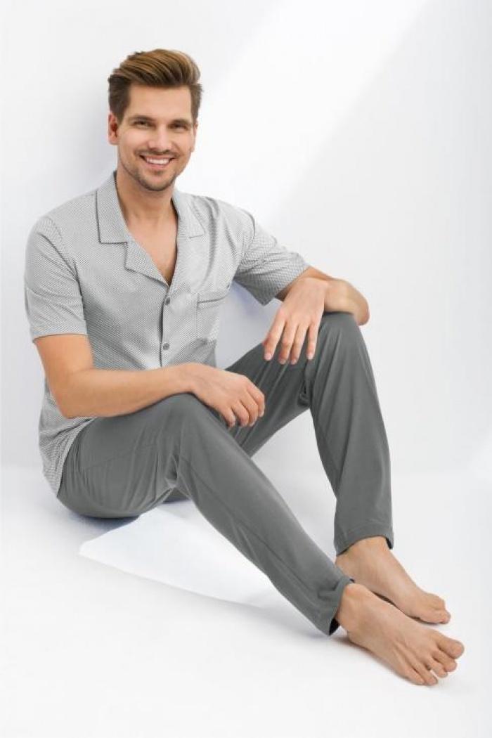 6212eb698909fa Sklep internetowy z piżamami , piżamy męskie rozpinane M,L,XL,XXL,3XL