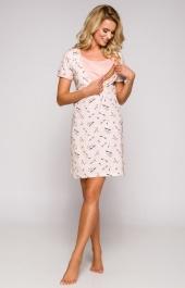 8e334fb5c6f6c7 Bielizna nocna:koszula damska z bawełny krótka,koszula nocna ciążowa ...